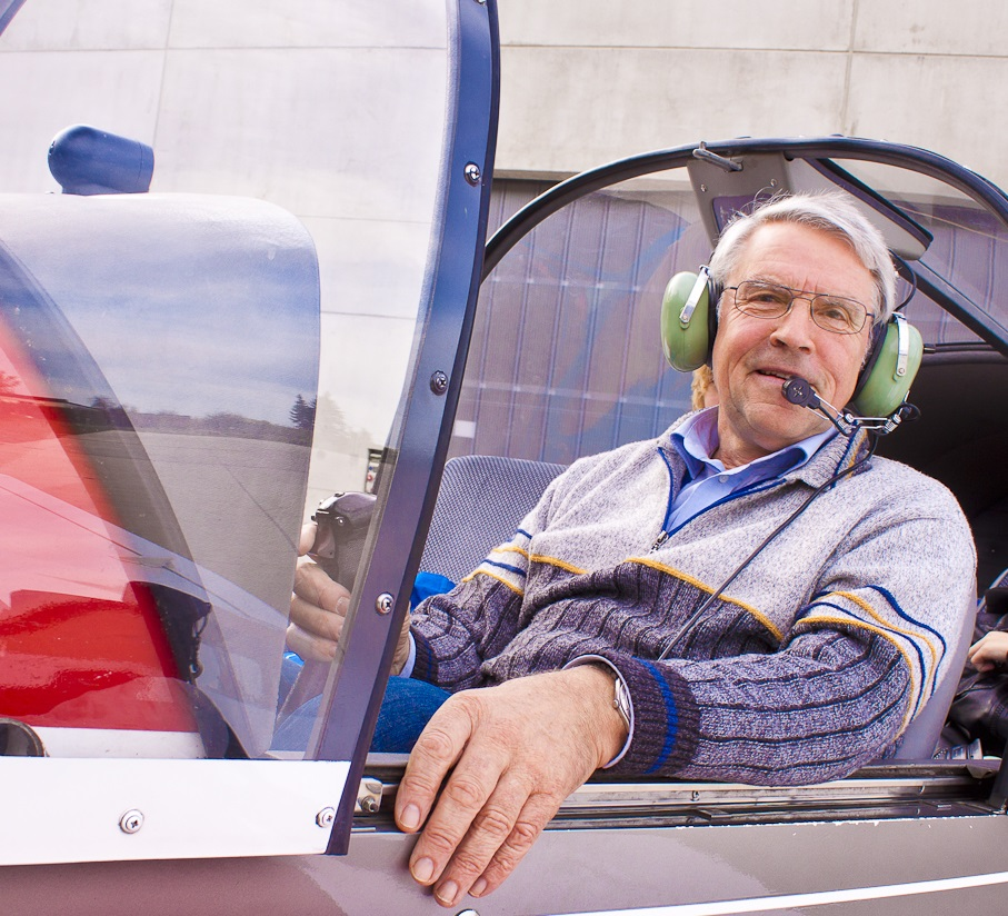 Mitbegründer des Guru-Formats: Josef Thomas, Leiter des Arbeitskreises Luft- und Raumfahrt